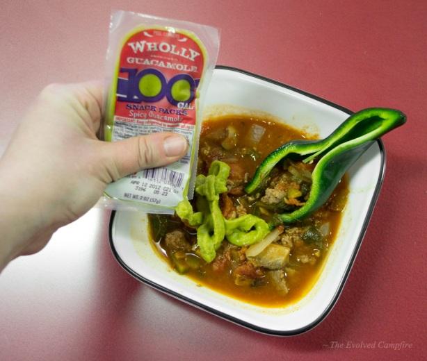 Natural Edible Spoon Poblano Pepper Chili